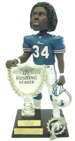 Miami Dolphins Ricky Williams 2003 AFC Rushing Leader Bobble Head