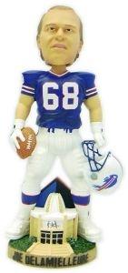 Buffalo Bills Joe Delamielleure Hall of Fame Bobble Head