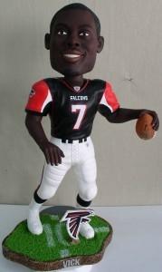 "Atlanta Falcons Michael Vick 18"" Bobble Head"