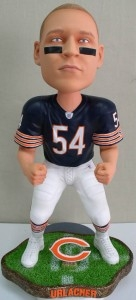 "Chicago Bears Brian Urlacher 18"" Bobble Head"
