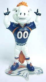 "Denver Broncos Mascot ""Miles"" Bobble Head"