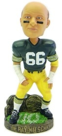 Green Bay Packers Ray Nitschke Stat Bobble Head