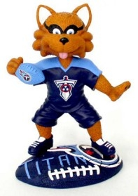 "Tennessee Titans Mascot ""T-Rac The Raccoon"" Bobble Head"