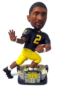 Michigan Wolverines Charles Woodson Bobble Head Doll