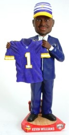 Minnesota Vikings Kevin Williams Draft Pick Bobble Head