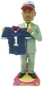 Buffalo Bills Willis McGahee Draft Pick Bobble Head