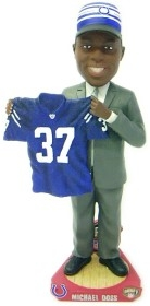 Indianapolis Colts Mike Doss Draft Pick Bobble Head