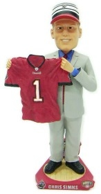 Tampa Bay Buccaneers Chris Simms Draft Pick Bobble Head