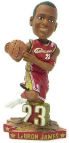 Cleveland Cavaliers Lebron James Road Jersey #1 Bobble Head