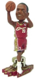 Cleveland Cavaliers Lebron James Road Jersey #3 Bobble Head