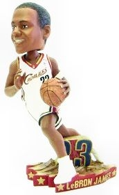 Cleveland Cavaliers LeBron James Home #4 Bobble Head