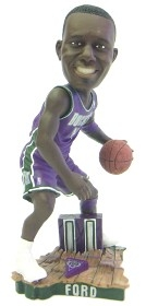 Milwaukee Bucks T.J. Ford Road Jersey Action Pose Bobble Head