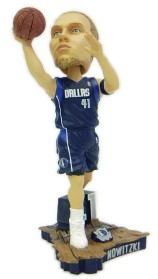 Dallas Mavericks Dirk Nowitzki Action Pose Bobble Head
