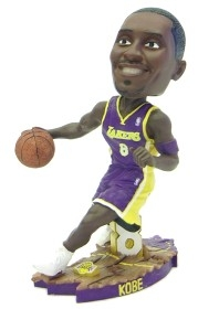 Los Angeles Lakers Kobe Bryant Road Jersey Action Pose Bobble Head