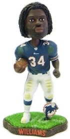 Miami Dolphins Ricky Williams 2003 Running Back Series 2 Bobble Head