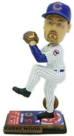 Chicago Cubs Kerry Wood Ticket Base Bobble Head