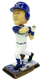 Kansas City Royals Mike Sweeney Ticket Base Bobble Head
