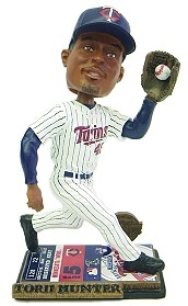 Minnesota Twins Torii Hunter Ticket Base Bobble Head