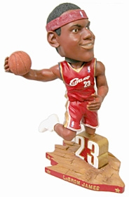 "Cleveland Cavaliers LeBron James 18"" Bobble Head"