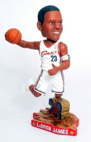 Cleveland Cavaliers LeBron James Home #5 Action Pose Bobble Head