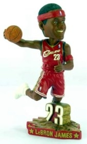 Cleveland Cavaliers LeBron James Road #5 Action Pose Bobble Head