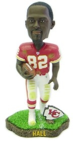 Kansas City Chiefs Dante Hall Game Worn Bobble Head Doll