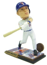 New York Mets Kazuo Matsui Ticket Base Bobble Head