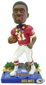 Kansas City Chiefs Priest Holmes 2004 Pro Bowl Bobble Head