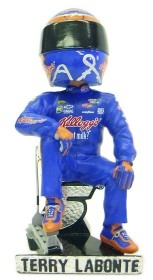 Terry Labonte Driver Suit Sitting Pose Bobble Head