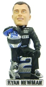 Ryan Newman Driver Suit Sitting Pose Bobble Head