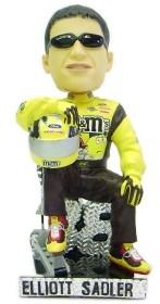 Elliott Sadler Driver Suit Sitting Pose Bobble Head
