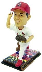 St. Louis Cardinals Matt Morris Ticket Base Bobble Head