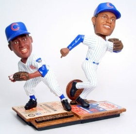 Chicago Cubs Banks & Sosa Then & Now Bobble Head