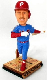 Philadelphia Phillies Mike Schmidt Ticket Base Bobble Head