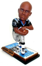 Carolina Panthers Stephen Davis Ticket Base Bobble Head