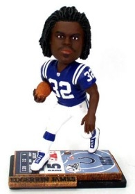 Indianapolis Colts Edgerrin James Ticket Base Bobble Head
