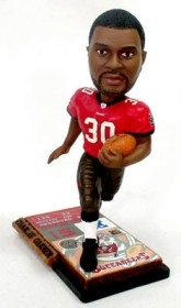 Tampa Bay Buccaneers Charlie Garner Ticket Base Bobble Head