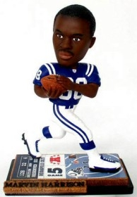 Indianapolis Colts Marvin Harrison Ticket Base Bobble Head