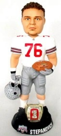 "Ohio State Buckeyes Alex Stepanovich 10"" Championship Ring White Bobble Head"