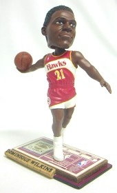 Atlanta Hawks Dominique Wilkins Soul Bobble Head