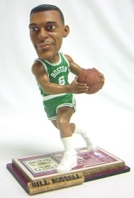 Boston Celtics Bill Russell Soul Bobble Head