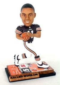 Cleveland Browns Kellen Winslow Jr. Ticket Base Bobble Head