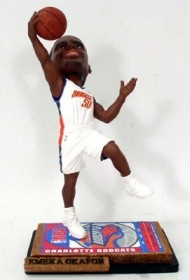 Charlotte Bobcats Emeka Okafor Ticket Base Bobble Head