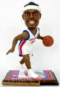 Detroit Pistons Richard Hamilton Ticket Base Bobble Head
