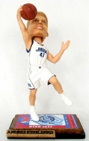 Utah Jazz Andrei Kirilenko Ticket Base Bobble Head