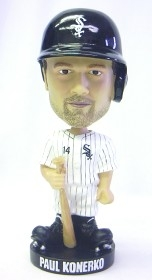 Chicago White Sox Paul Konerko Knucklehead Style Bobble Head