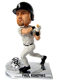 Chicago White Sox Paul Konerko Platinum Bobble Head
