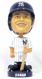 New York Yankees Johnny Damon Knucklehead Style Bobble Head
