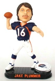 Denver Broncos Jake Plummer Black Base Edition Bobble Head