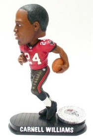 Tampa Bay Buccaneers Carnell Williams Black Base Edition Bobble Head